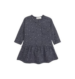 Miles Baby Baby L/S Dress Knit Navy