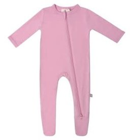 Kyte Baby Zippered Footie Solid Dusk