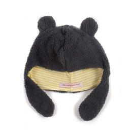 Magnetic Me Magnetic Bears Steel Fleece Hat - Grey - 6-12M