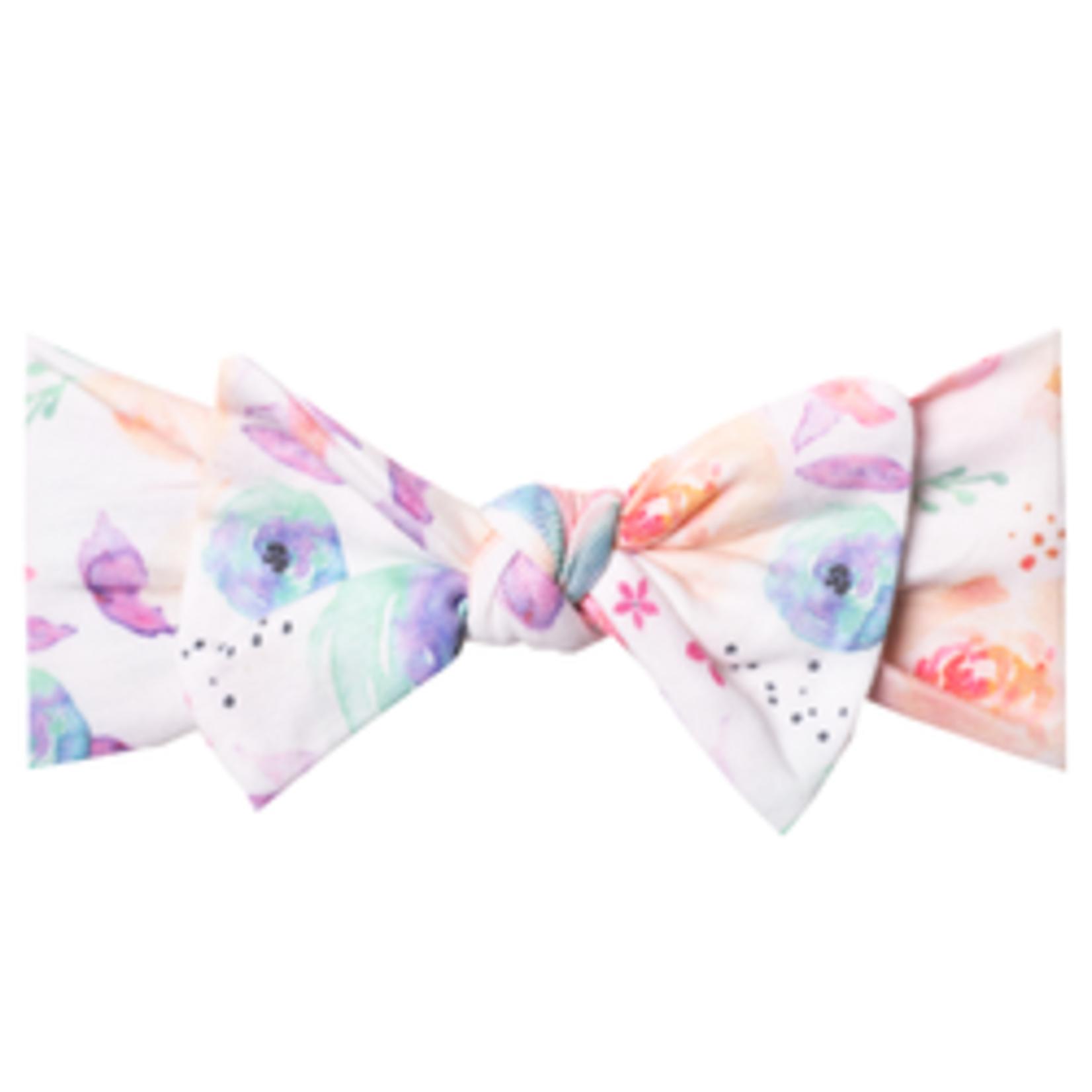 Copper Pearl Knit Headband - Bloom