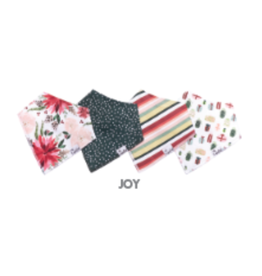 Copper Pearl Bibs - Joy Set - 4 pack