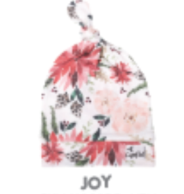 Copper Pearl Top Knot Hat, Joy