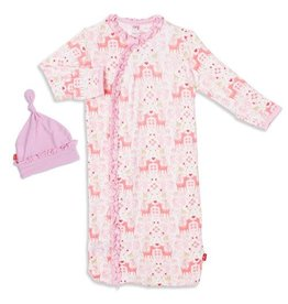 Magnetic Me Flora and Fauna Modal Magnetic Gown Hat Set NB-3M