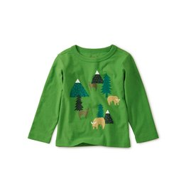 Tea Collection Baby Boy Takin Reserve Graphic Tee - Gingko