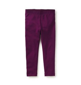Tea Collection Skinny Solid Leggings Cosmic Berry