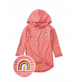 Tea Collection Rainbow Hi-Lo Pullover Hoodie 6