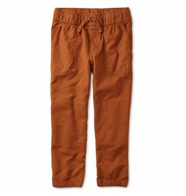 Tea Collection Baby Woven Patch Pocket Joggers - Ginger Bread