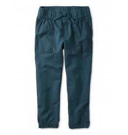Tea Collection Baby Woven Patch Pocket Joggers - Bedford Blue