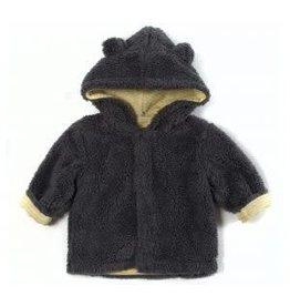 Magnetic Me Magnetic Bears Fleece Hooded Jacket - Grey 18-24M