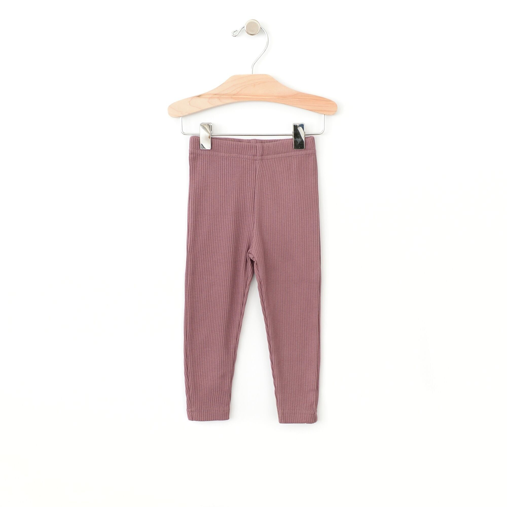 City Mouse Rib Legging - Orchid 2T