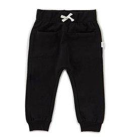 Miles Baby Unisex Jogger Pant Knit - Black 5