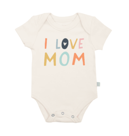 Finn + Emma Love Mom Graphic Bodysuit 0-3M