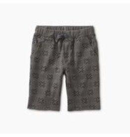 Tea Collection Pattern Cruiser Shorts - Basketweave Geo 4