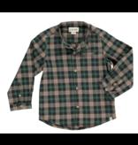 Me + Henry Green Plaid Shirt - Mens XL