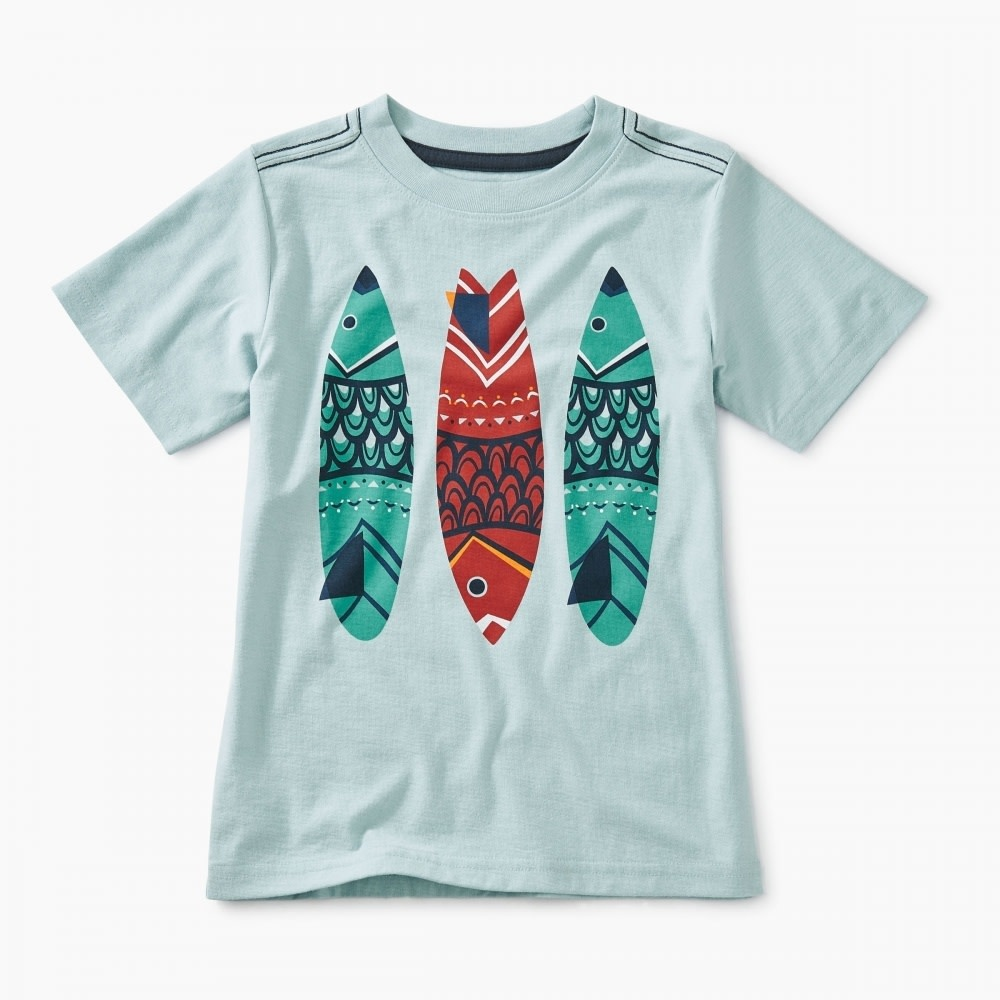 Tea Collection Fish Stick Graphic Tee 5