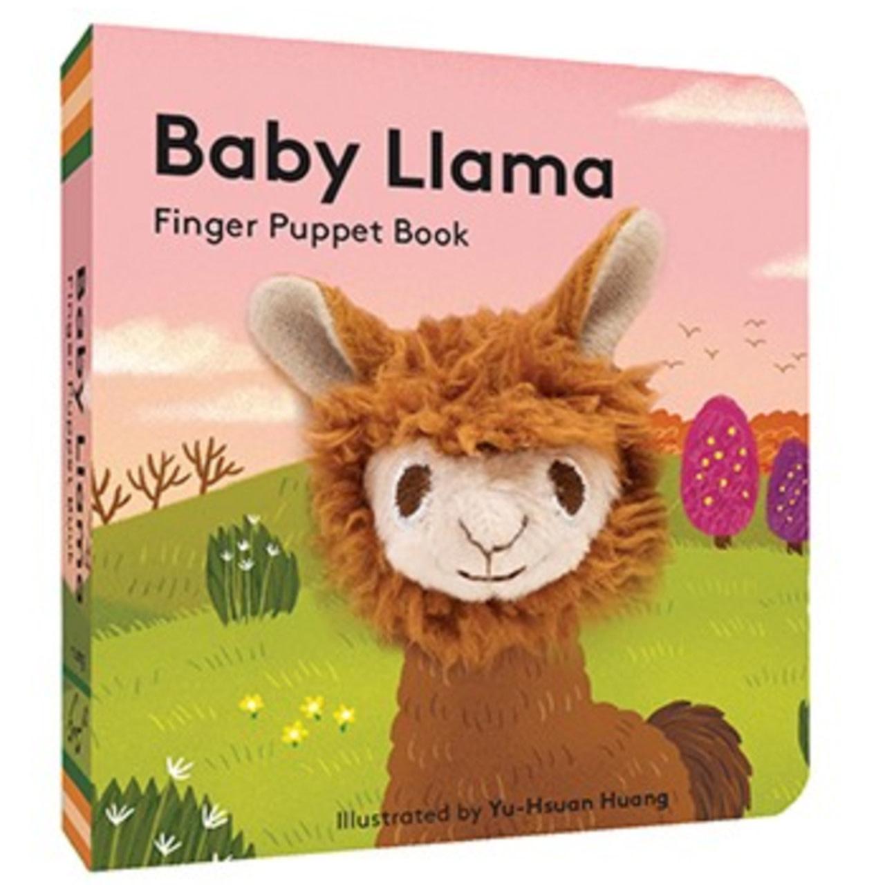 Finger Puppet Book: Baby Llama