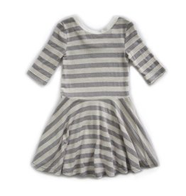 Vignette Abbey Twirling Dress Cloud Grey
