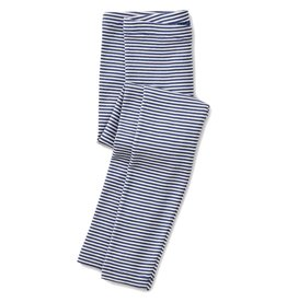 Tea Collection Striped Legging - Majorelle Blue 4