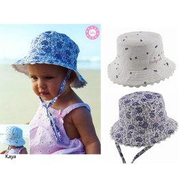 Millymook and Dozer Baby Girls Bucket Hat - Kaya Blue L (12-24m)