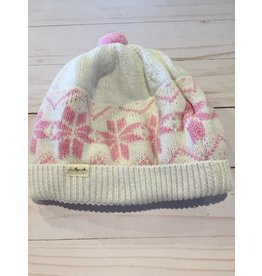 Millymook and Dozer Baby Girl Beanie - Mae Cream L (12-24m)
