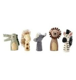 Mud Pie Safari Finger Puppets