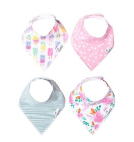 Copper Pearl Bibs - Summer Set - 4 pack