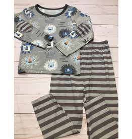 Bestaroo Two Piece Modal Lions Pajama Set (Boys 2T-6Y) 5T