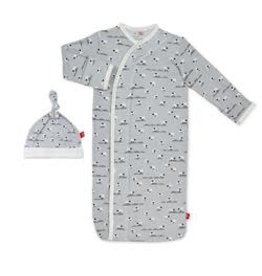 Magnetic Me Sheeps Meadow Modal Magnetic Sack Gown Set NB-3M