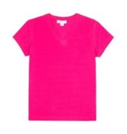 Candy Pink Girls Tee Shirt 4/5T