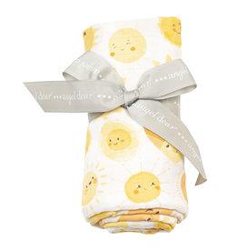Angel Dear Muslin Swaddle Blanket, Sunshine 47x47