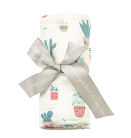 Angel Dear Bamboo Swaddle Blanket, House Plants