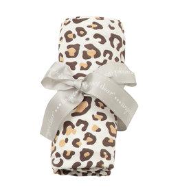 Angel Dear Bamboo Swaddle Blanket, Leopard