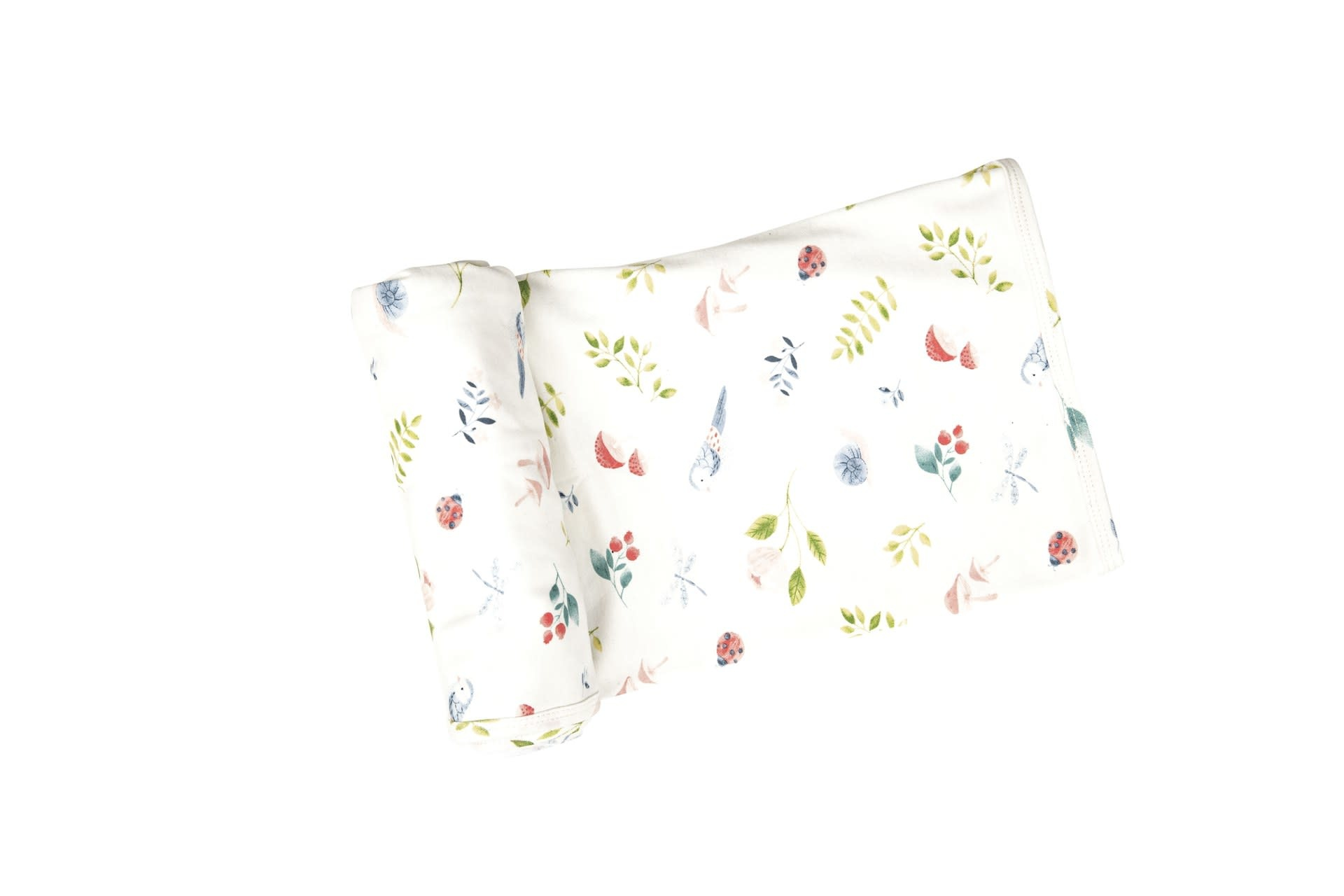 Angel Dear Bamboo Swaddle Blanket, Nature's Notebook (30x36)
