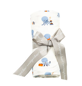 Angel Dear Bamboo Swaddle Blanket, Octopus Playtime