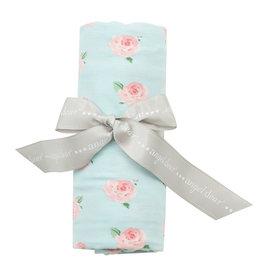 Angel Dear Bamboo Swaddle Blanket, Petite Rose
