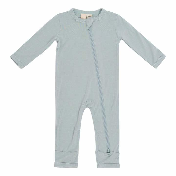 Kyte Baby Zippered Romper Sage