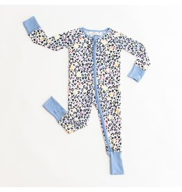 Little Sleepies Convertible Romper/Sleeper Leopard Love