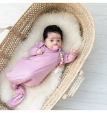 Little Sleepies Knotted Gown Mauve