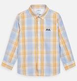 Mayoral Long Sleeved Shirt Boy - Sunflower Check