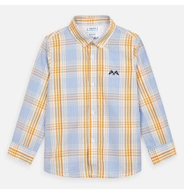 Mayoral Long Sleeved Shirt Boy - Sunflower Check