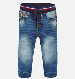 Mayoral Jogger Pants Baby Boy - Denim