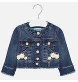 Mayoral Jacket Baby Girl - Dark Denim