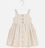 Mayoral Mayoral Dress Girl - Sand Stripes