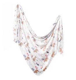 Copper Pearl Knit Blanket - Lumberjack