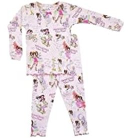 Books to Bed Princess Wears Pants Pajama  3T