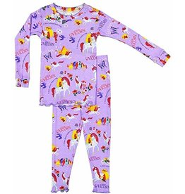 Books to Bed Uni the Unicorn Pajama  3T