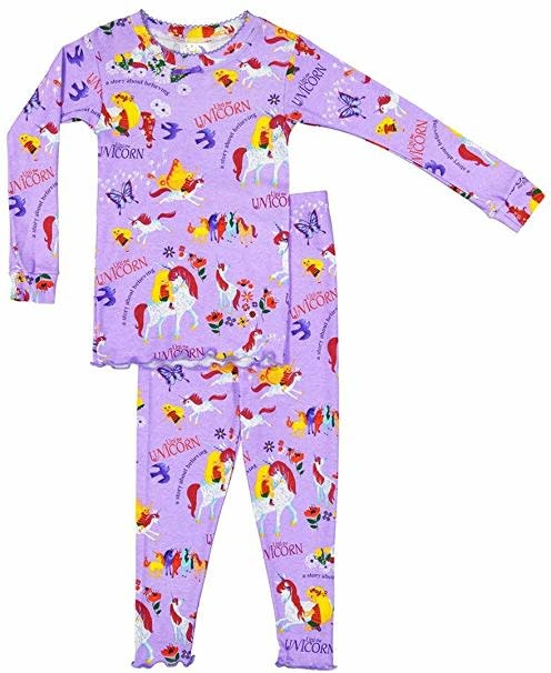 Books to Bed Uni the Unicorn Pajama 6Y