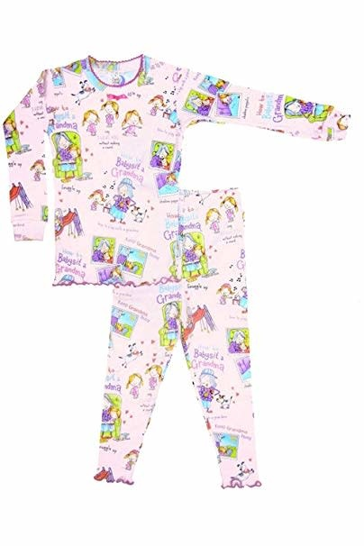 Books to Bed How to Babysit a Grandma Pajama  6Y