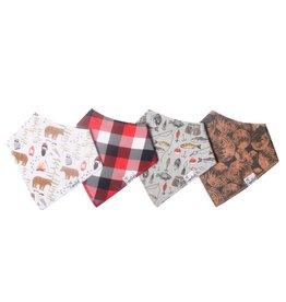 Copper Pearl Bibs - Lumberjack Set - 4 pack