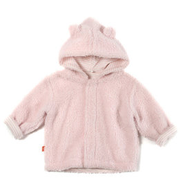 Magnetic Me Magnetic Bears Icing Fleece Hooded Jacket - Pink 12-18M